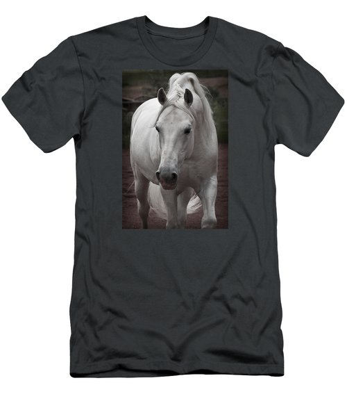 Men's T-Shirt (Slim Fit) featuring the photograph Maestoso II Ambrosia D5881 by Wes and Dotty Weber