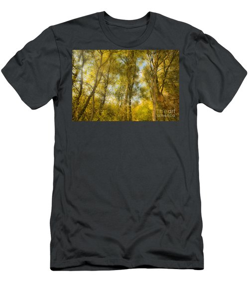 Magic Forest-4 Men's T-Shirt (Athletic Fit)