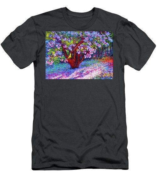 Magnolia Melody Men's T-Shirt (Athletic Fit)