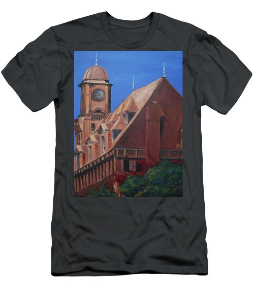 Main Street Station Men's T-Shirt (Athletic Fit)