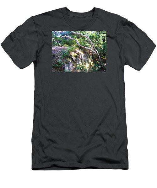 Maine Men's T-Shirt (Slim Fit) by Oleg Zavarzin
