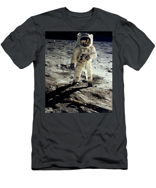 Man On The Moon Men's T-Shirt (Athletic Fit)