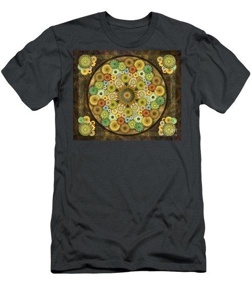 Mandala Stone Flowers Sp Men's T-Shirt (Athletic Fit)