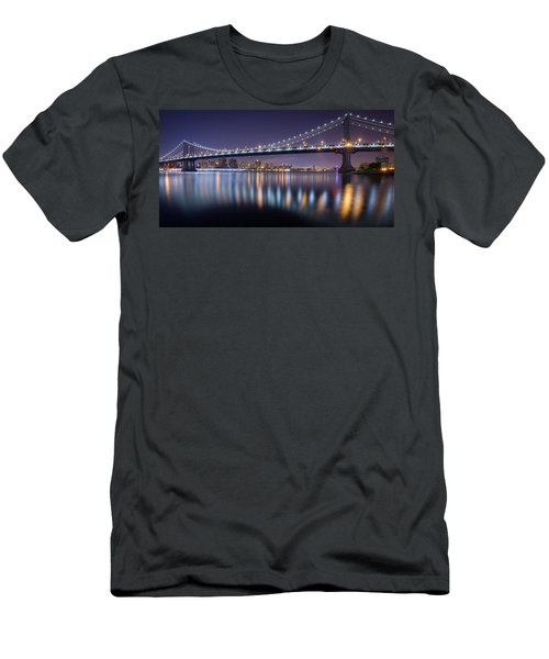 Manhattan Reflections  Men's T-Shirt (Athletic Fit)