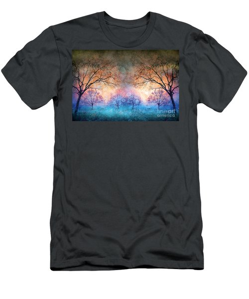 Many Moons Men's T-Shirt (Athletic Fit)