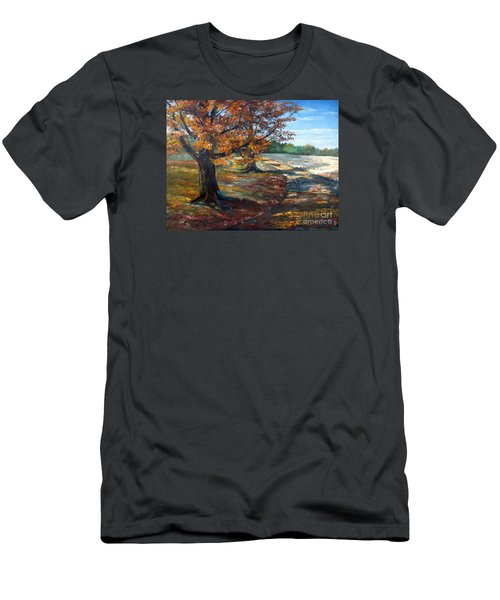 Maple Lane Men's T-Shirt (Slim Fit) by Lee Piper