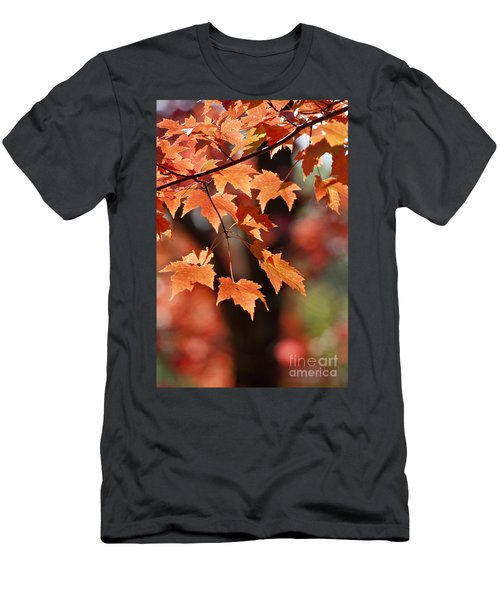 Maple Leaves II Men's T-Shirt (Athletic Fit)