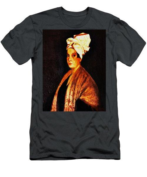Marie Laveau - New Orleans Witch Men's T-Shirt (Athletic Fit)