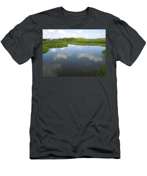 Marshland Men's T-Shirt (Slim Fit) by Ron Davidson
