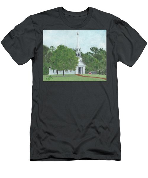 Martha Mary Chapel Men's T-Shirt (Athletic Fit)