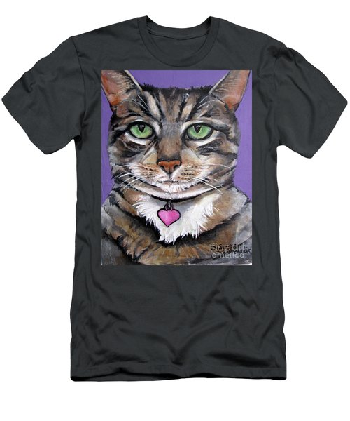 Marvelous Minnie The Gallery Cat Men's T-Shirt (Athletic Fit)