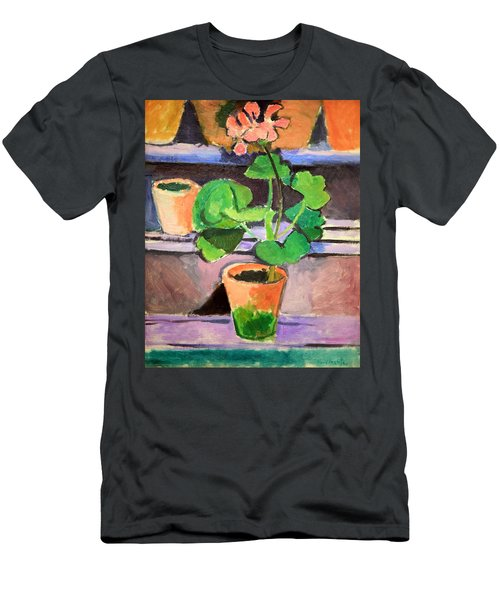 Matisse's Pot Of Geraniums Men's T-Shirt (Athletic Fit)