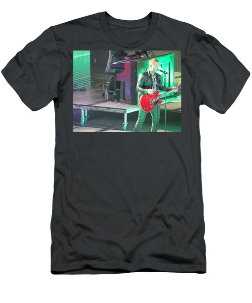 Matthew West At Winterjam Men's T-Shirt (Slim Fit) by Aaron Martens