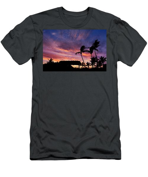 Maui Tiki Sky Men's T-Shirt (Athletic Fit)