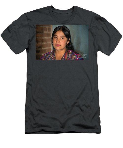 Mayan Girl Men's T-Shirt (Athletic Fit)