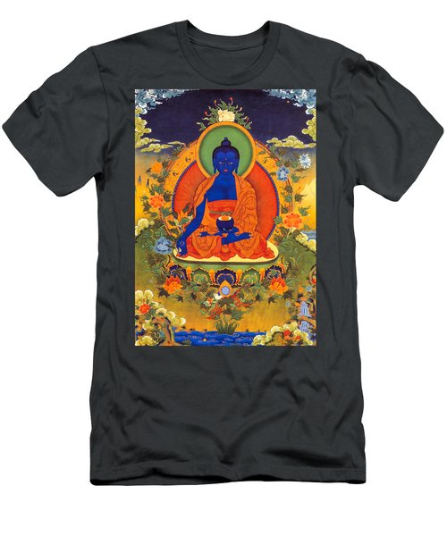 Medicine Buddha Men's T-Shirt (Athletic Fit)