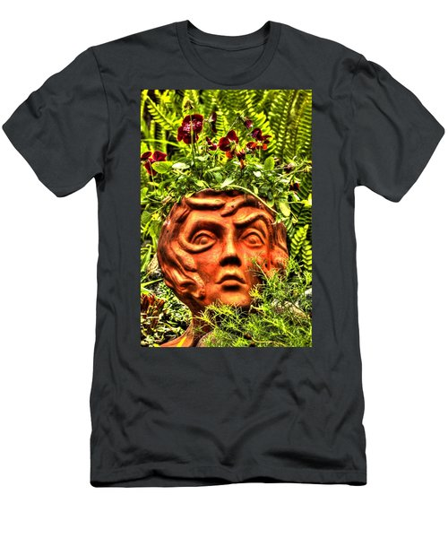 Men's T-Shirt (Athletic Fit) featuring the photograph Medusa  by Tyson Kinnison