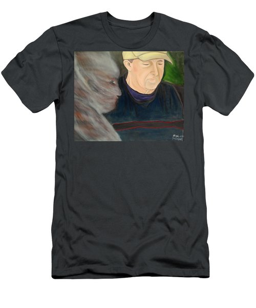 Memory's Widow Men's T-Shirt (Slim Fit) by Lisa Brandel