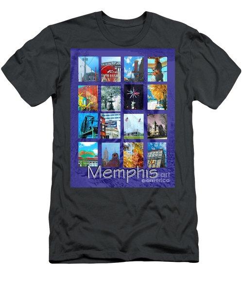 Memphis Men's T-Shirt (Slim Fit) by Lizi Beard-Ward