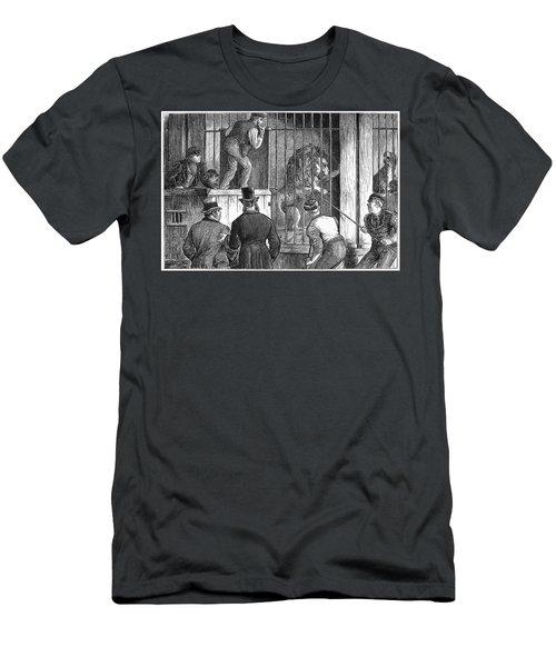 Menagerie Sale, 1872 Men's T-Shirt (Athletic Fit)