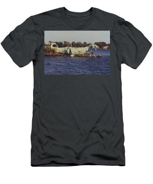 Merritt Island River Dragon Men's T-Shirt (Athletic Fit)