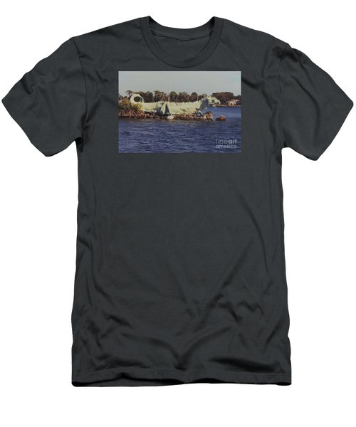 Merritt Island River Dragon Men's T-Shirt (Athletic Fit)