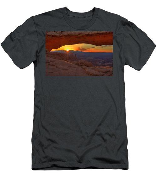 Mesa Arch Sunrise Men's T-Shirt (Athletic Fit)