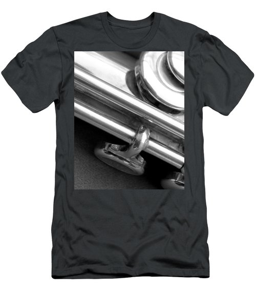 Men's T-Shirt (Slim Fit) featuring the photograph Metallic  by Lisa Phillips