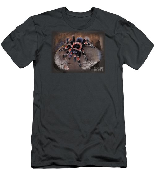 Mexican Redknee Tarantula Men's T-Shirt (Athletic Fit)