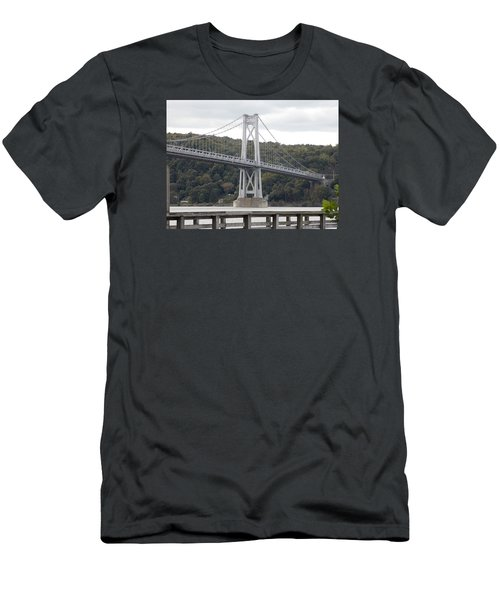 Mid Hudson Bridge Men's T-Shirt (Athletic Fit)