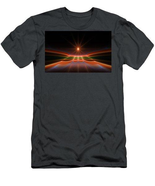 Midnight Sun Men's T-Shirt (Athletic Fit)