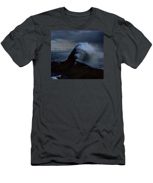 Midnight Swim Men's T-Shirt (Athletic Fit)