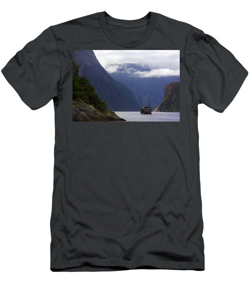 Milford Sound Men's T-Shirt (Athletic Fit)