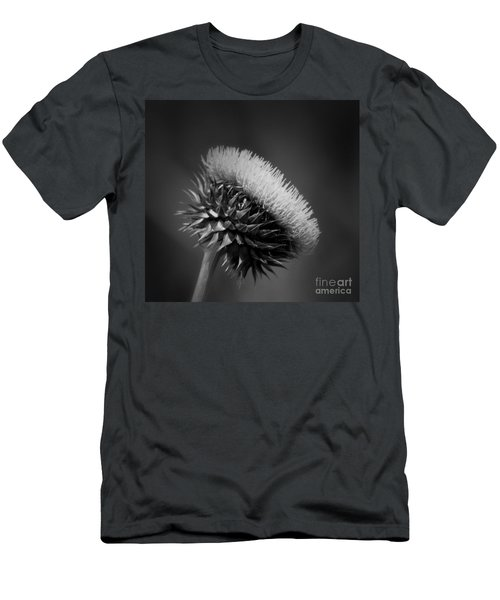 Milk Thistle Bw Men's T-Shirt (Athletic Fit)