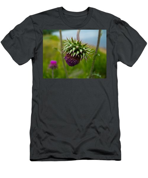 Milk Thistle Men's T-Shirt (Athletic Fit)