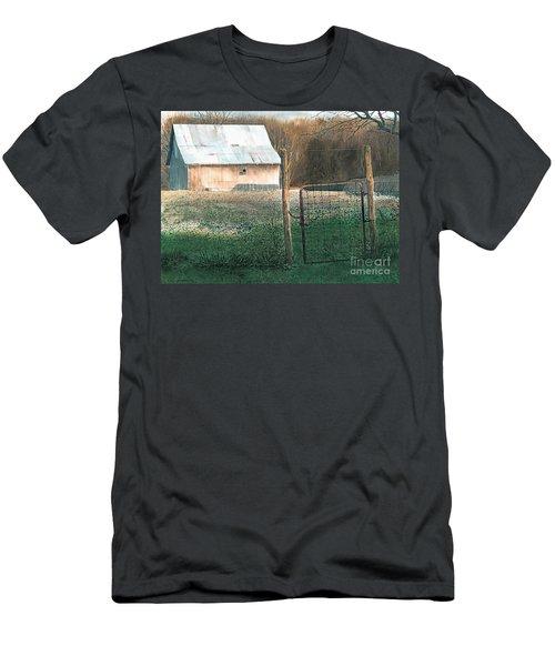 Milking Time Men's T-Shirt (Athletic Fit)