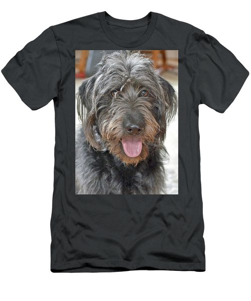 Men's T-Shirt (Slim Fit) featuring the photograph Milo by Lisa Phillips