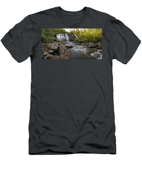 Mink Falls Men's T-Shirt (Athletic Fit)