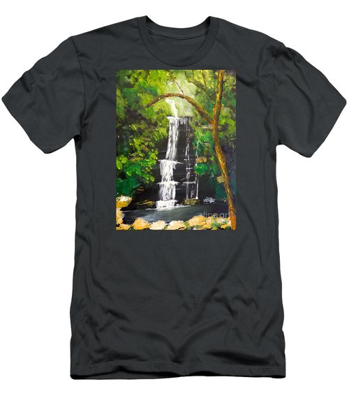 Minnumurra Falls Men's T-Shirt (Athletic Fit)