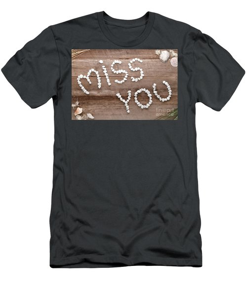 Miss You Men's T-Shirt (Athletic Fit)