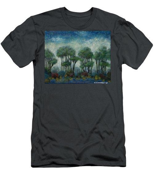 Misty Marsh Men's T-Shirt (Athletic Fit)