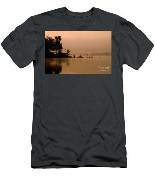 Misty Morning Solitude  Men's T-Shirt (Athletic Fit)