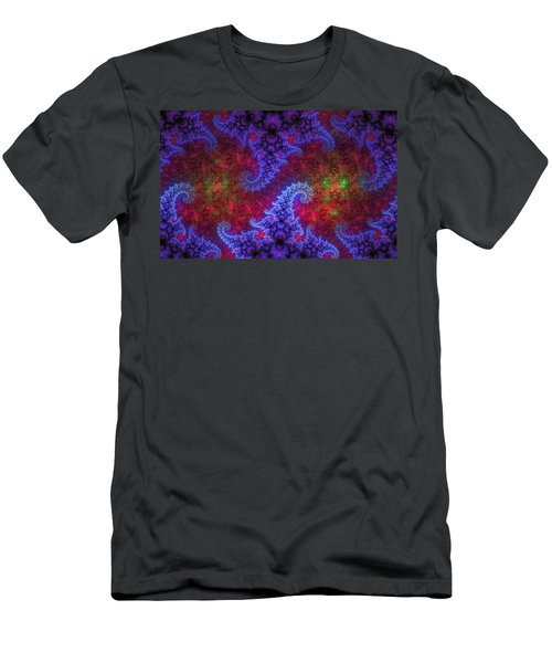 Men's T-Shirt (Slim Fit) featuring the digital art Mobius Unleashed by GJ Blackman