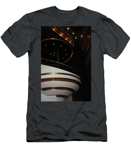Men's T-Shirt (Slim Fit) featuring the photograph Modern Loge by Kristin Elmquist
