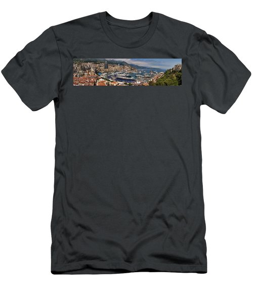 Monaco Panorama Men's T-Shirt (Athletic Fit)