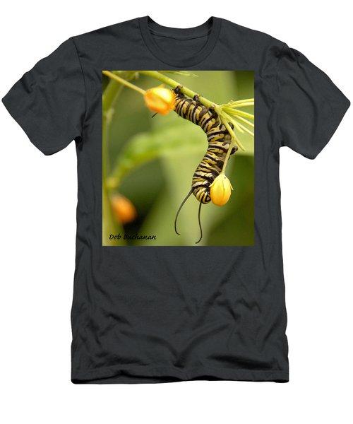 Monarch Caterpillar Men's T-Shirt (Athletic Fit)