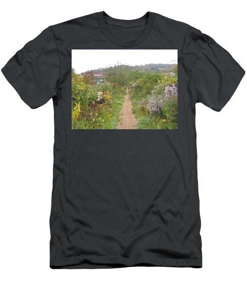 Monet's Garden 5 Men's T-Shirt (Athletic Fit)