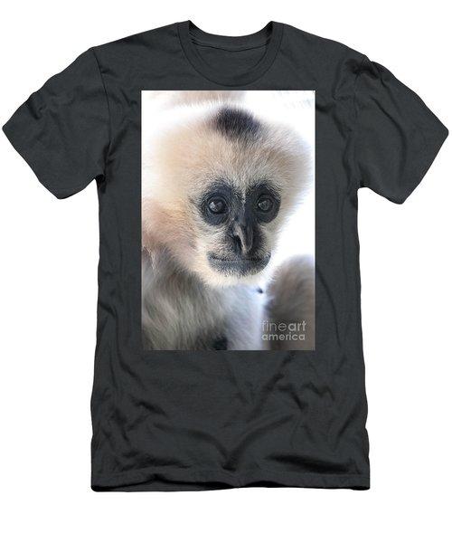 Monkey Face Men's T-Shirt (Slim Fit) by Ray Warren