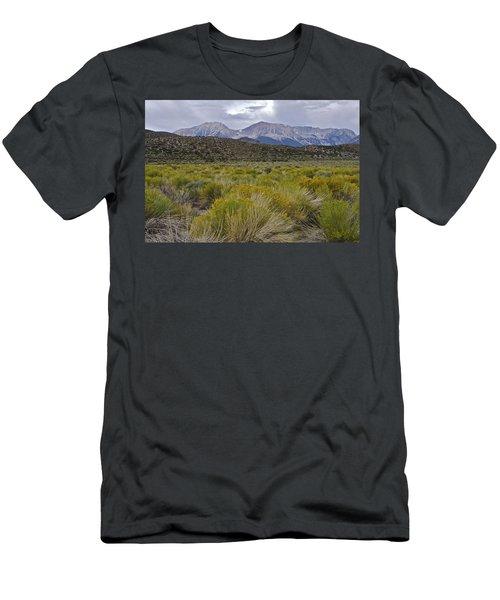 Mono Basin Lee Vining 1 Men's T-Shirt (Athletic Fit)