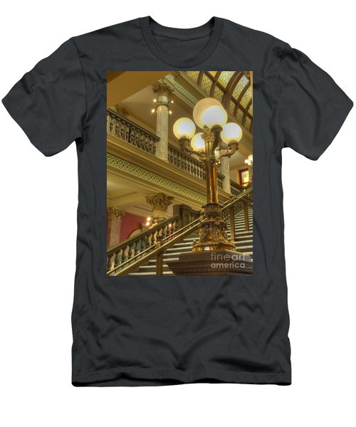 Montana State Capitol Men's T-Shirt (Athletic Fit)